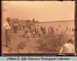 Swimming, Willow Lake, Wildrose, N.D.