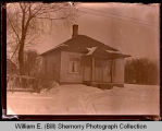 House in winter, Northwest Williston, N.D.