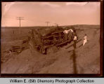 Train wreck, Northwest Williston, N.D.