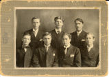 Group of male students