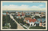 Bird's-eye view, Minot, N.D.