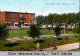 Northern Pacific Depot Park, Mandan N.D.