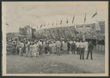 Midway sideshows, Wells County Fair, Fessenden, N.D.