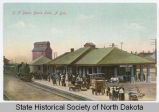 Great Northern Railroad Depot, Devils Lake, N.D.