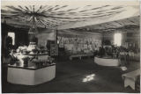 Women's Building interior, Wells County Fair, Fessenden, N.D.