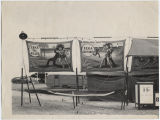 Midway sideshow, Wells County Fair, Fessenden, N.D.