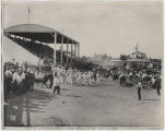 Part of the Wells County Stock Parade, Wells County Fair, Fessenden, N.D.