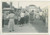 Crowds at Wells County Fair, Fessenden, N.D.