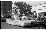 Schock's Dry Goods float, Ashley Diamond Jubilee parade, Ashley, N.D.