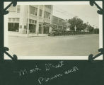 Car dealership, corner of 4th Street and Thayer Avenue, Bismarck, N.D.