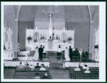 Wedding at St. Mary's Church, Bismarck, N.D.