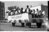 Hickory Hardware Float, Ashley Diamond Jubilee parade, Ashley, N.D.