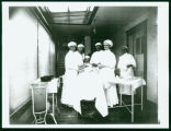 Hospital operating room, Beach, N.D.