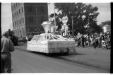Bank Float, Ashley Diamond Jubilee parade, Ashley, N.D.