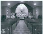 St. Mary's Church interior, Bismarck, N.D.