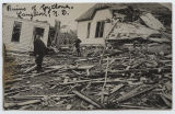 Ruins of cyclone, Langdon, N.D.