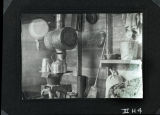 Interior of A.L. Cody's homestead shack, Bowman County, N.D.