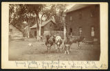 Registered Jersey cattle on Hughes and Hersey Farm, Arvilla, Dakota Territory