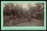 St. Paul Jobbers' Union picnic, Hughes and Hersey Farm, Arvilla, Dakota Territory