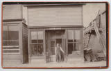 W. Taylor's Store and post office, Langdon, N.D.