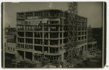 Hotel McKenzie under construction, Bismarck, N.D.