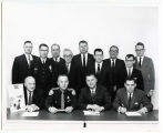 Bismarck Police Department and Highway Department staff, Bismarck, N.D.