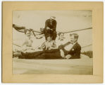 Unidentified group, probably on Minnie H Steamboat