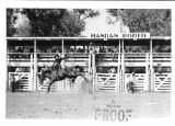 Bucking bronc, Mandan Rodeo