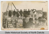 Bismarck Hospital cornerstone laying, Bismarck, N.D.