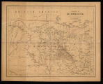 Territory of Minnesota map