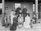 Officers and friends, Fort Buford, Dakota Territory