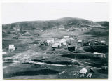 View of original townsite, Sanish, N.D.