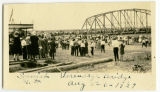 Dedication of Verendrye Bridge, Sanish, N.D.