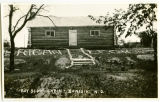 Boy Scout cabin, Sanish, N.D.