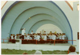 North Dakota Centennial Band in concert, Dickinson, N.D.