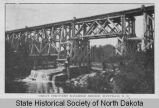 Great Northern Railroad bridge, Mayville, N.D.
