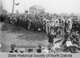 North Dakota State Capitol cornerstone laying, Bismarck, N.D.