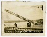 Verendrye Bridge construction, Sanish, N.D.
