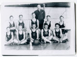 Sanish High School basketball team, Sanish, N.D.