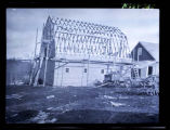 Barn construction, Walsh County, N.D.