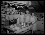 Kitchen staff at Camp Grassick, N.D.