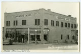 F and M Grocery and Yellowstone Hotel, Hettinger, N.D.