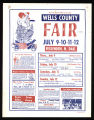 1970 Wells County Fair Poster