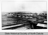 Looking northwest over Fort Buford, North Dakota