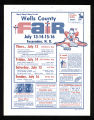 1972 Wells County Fair Poster