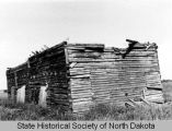 Antoine Gingras' roofless fur trading post, Walhalla, N.D.