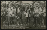 War-Capped Chiefs of North Dakota Fred Olsen photo