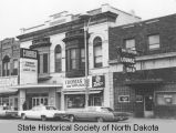 Patterson Lounge and Bar and Capitol Theatre, Main Avenue between 5th and 6th Street, Bismarck,...