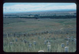 Little Bighorn Battlefield from top of Custer Hill