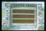 Custer Trail marker, New Salem, N.D.